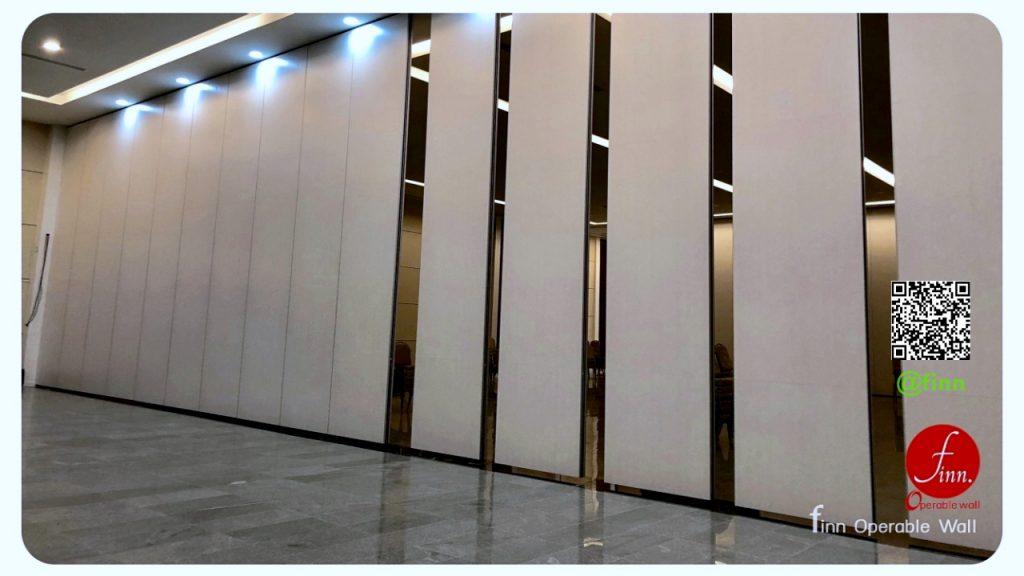 ผนังบานเลื่อนกั้นห้องกันเสียง Finn Operable Wall By FINN De'cor